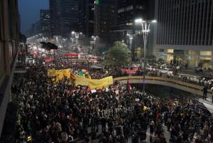 Manifestação São Paulo, Junho, 2013
